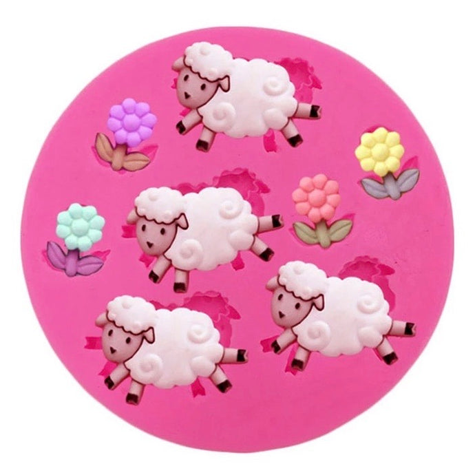 Sheep & Daisy Mold