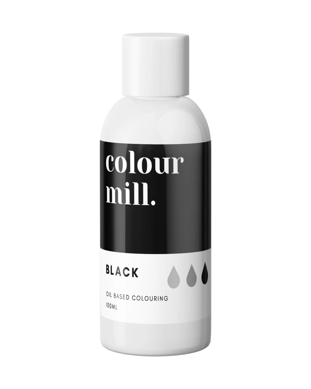 Oil Based Colouring 100ml Black
