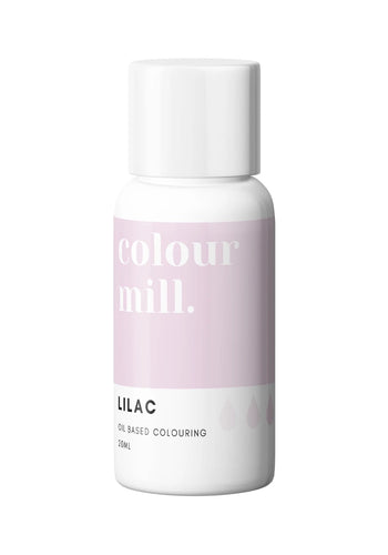 Oil Based Colouring 20ml Lilac