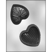 "Load image into Gallery viewer, HEART BOX 4"" CHOCOLATE MOLD 90-1304"