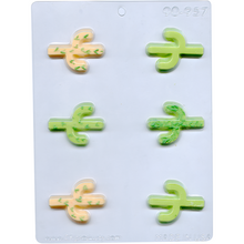 Load image into Gallery viewer, CACTUS CHOCOLATE MOLD 90-957
