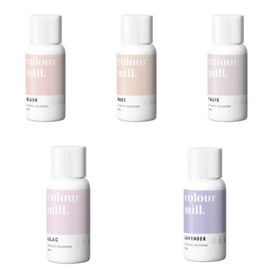 Oil Based Colouring 5 pack 20ml Nude