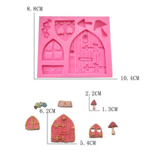 Load image into Gallery viewer, Fairy House Mold