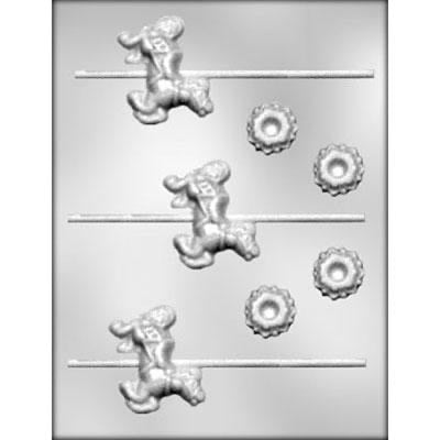 CAROUSEL HORSE CHOCOLATE MOLD 90-15135