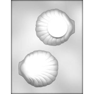 "CLAM SHELL 4¼"" 3D CHOCOLATE MOLD #90-12869"
