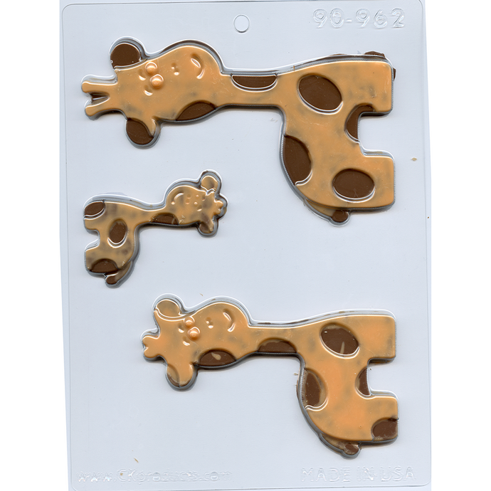 GIRAFFE FAMILY MOLD 90-962