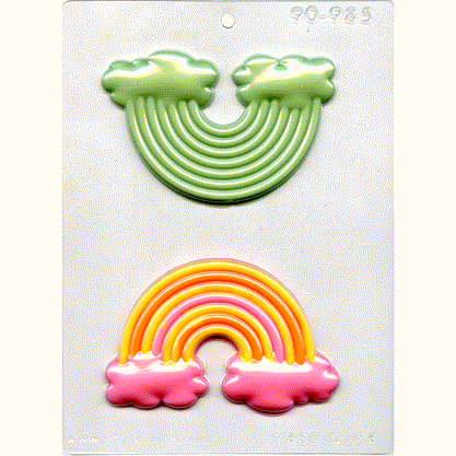 Rainbow CHOCOLATE MOLD #90-985