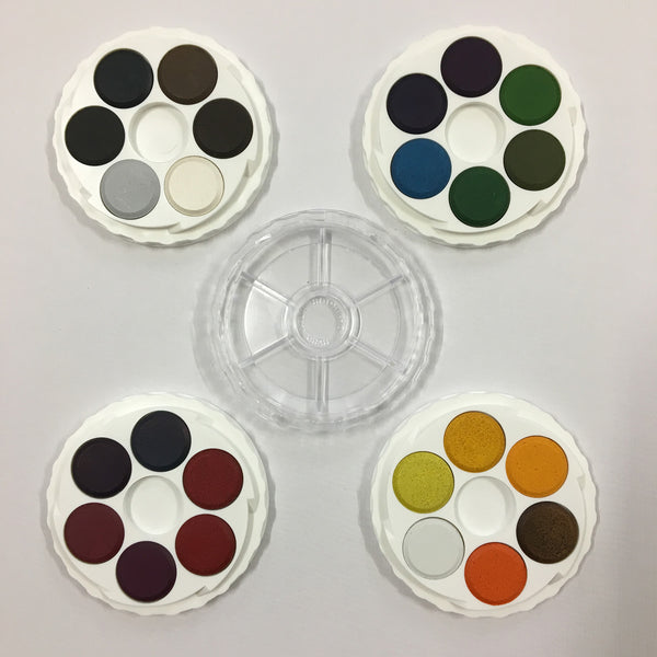 Micador Brilliant Water Colours - 24 Colours for Artists
