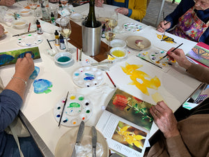Private Acrylic Ink Workshop - Mid North Area - up to 6 people