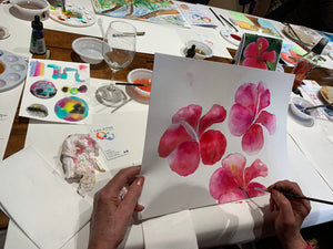 Private Acrylic Ink Workshop - SA - up to 10 people