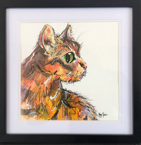 Marshal - Original Artwork in Ink - Framed