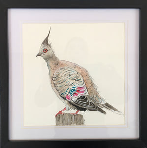 Gerald - Original Artwork in Pen and Ink - Framed