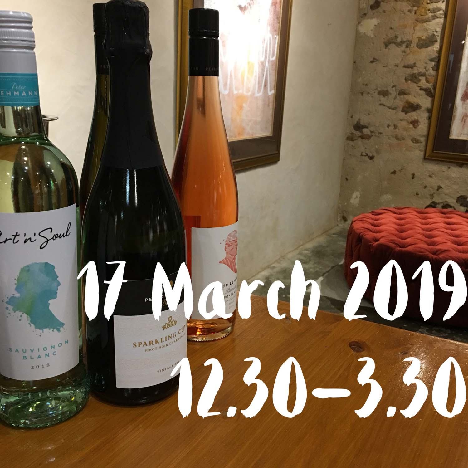 Paint and Plonk at Peter Lehmann Wines 17 March 2019