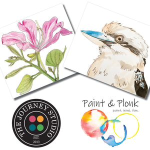 Paint and Plonk at Redwing Farm 6-9pm 7 November 2020
