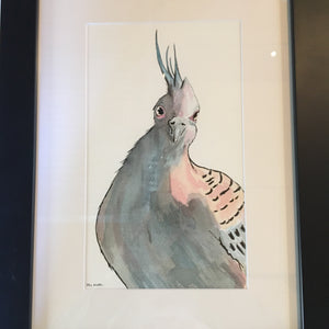 The Squire - Original Artwork in Pen and Ink - Framed