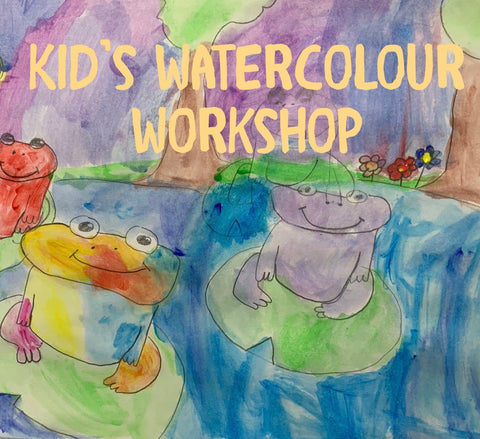 Watercolour Workshop for Children at Peter Lehmann Wines 4 August 10-12