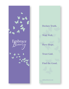 Embrace Bravery Bookmark
