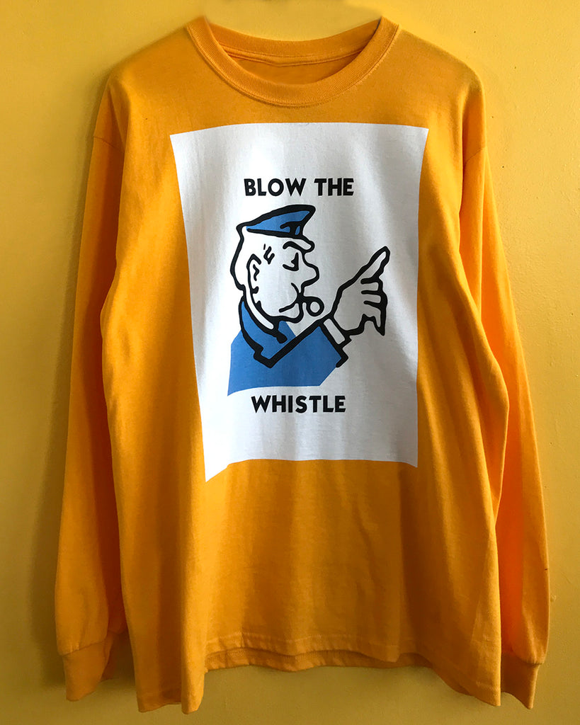 Blow The Whistle Long Sleeve T-Shirt
