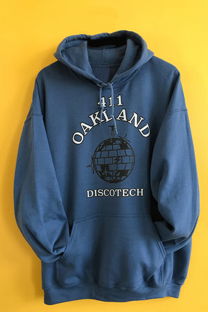 411 Oak Discotech Hooded Sweatshirt