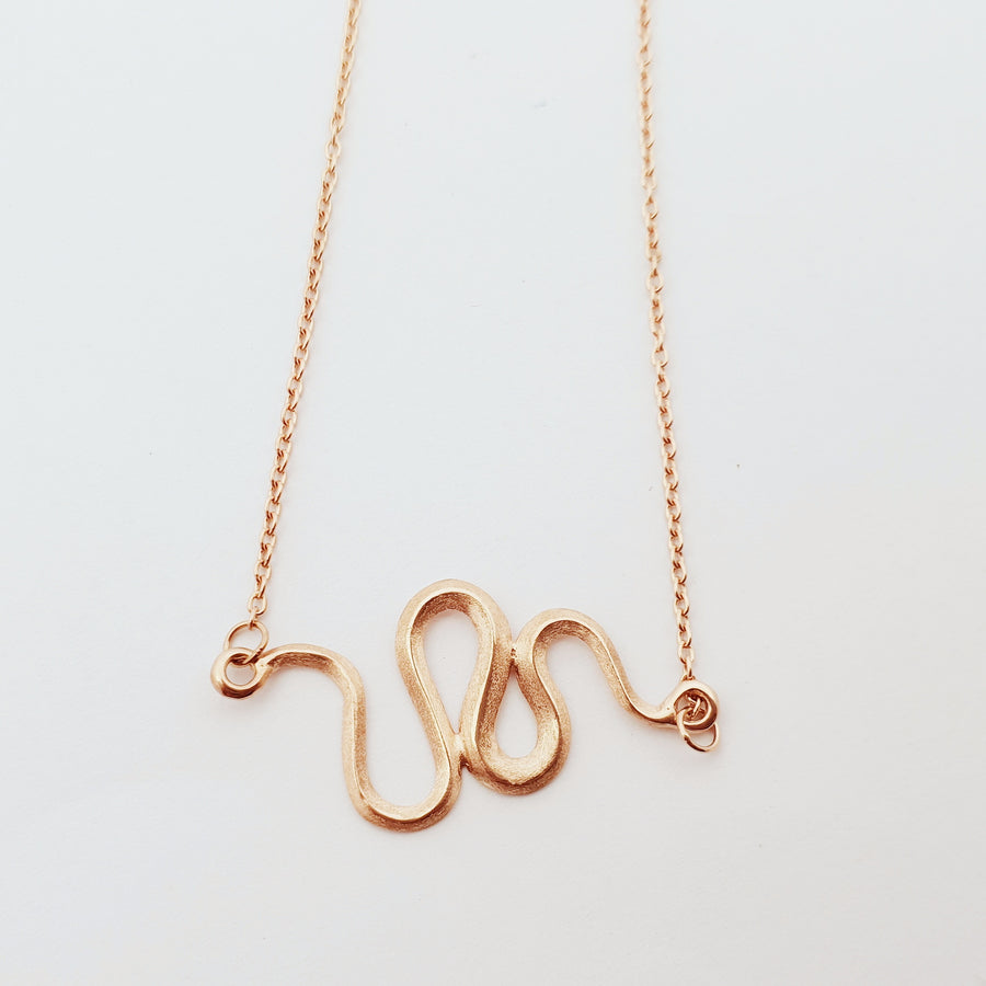 rose gold Julianne necklace