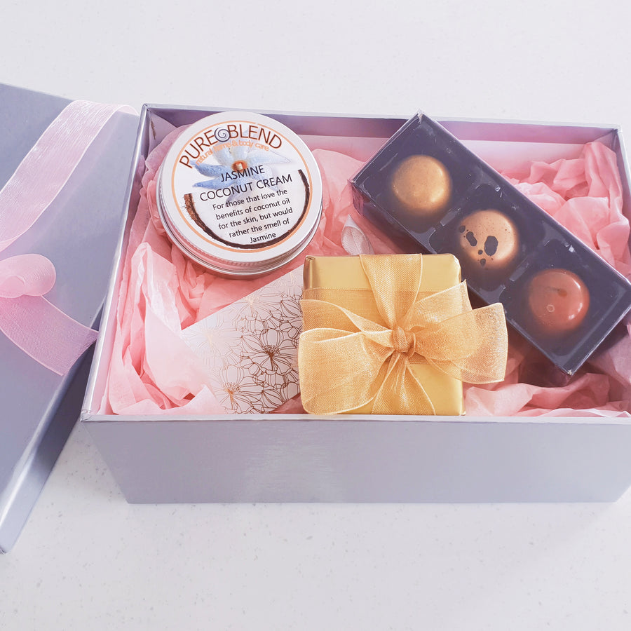 jewellery gift box chocolate skin care