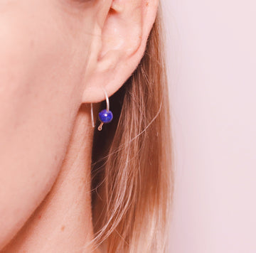 Sky earrings - Lapis Lazuli