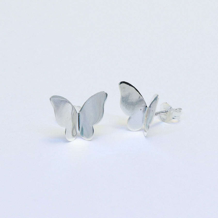 sterling silver Jessie butterfly earrings