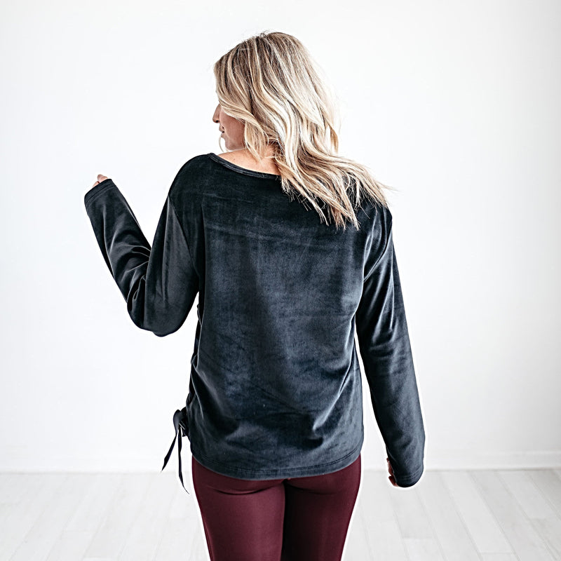 Inner Bliss Velvet Sweatshirt