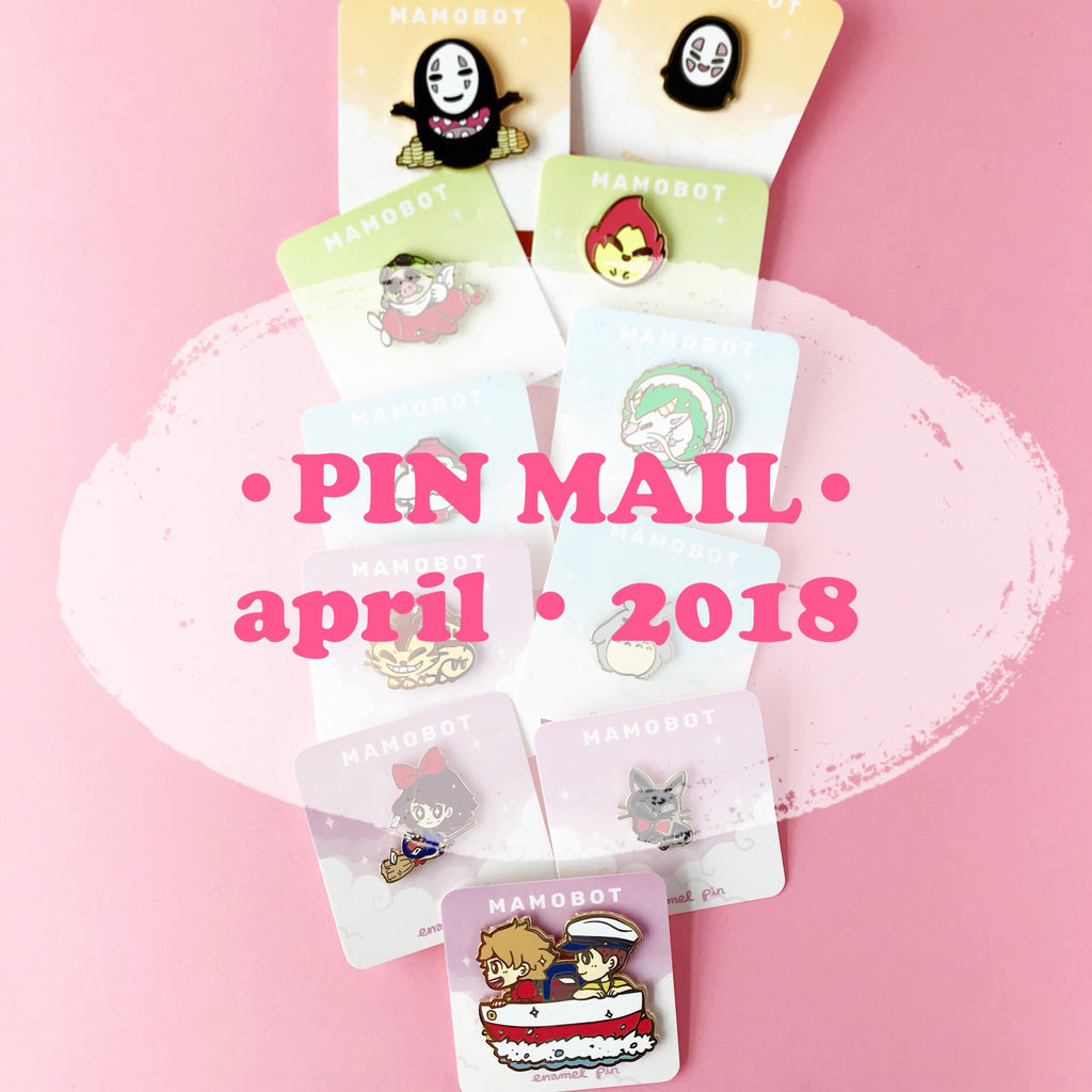 Pin Mail • April 2018