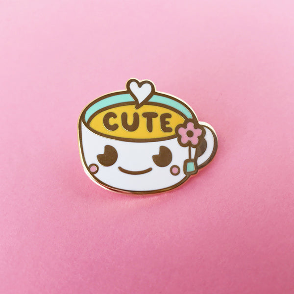 Cute-Tea pin by Mis0happy for The Pink Samurai & Friends