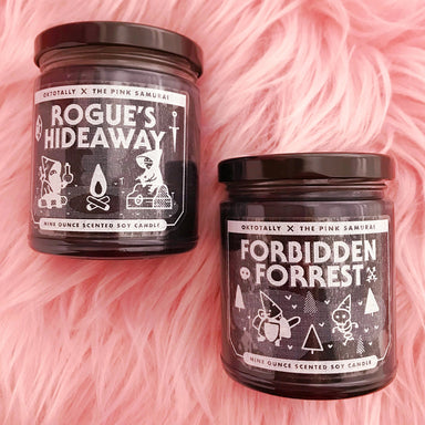 Rogue's Hideaway 9 oz Soy Candle -  - The Pink Samurai