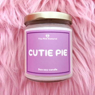 Cutie Pie 9 oz Soy Candle -  - The Pink Samurai