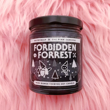 Forbidden Forest 9 oz Soy Candle -  - The Pink Samurai