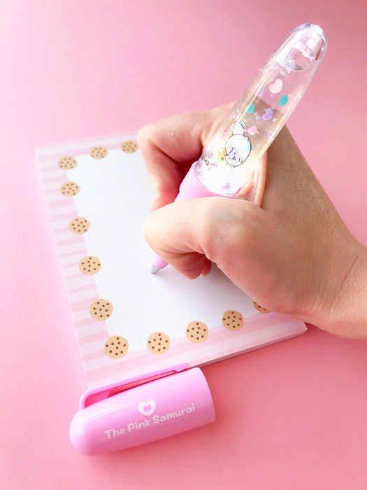 Cookie Cat Notepad - Stationery - The Pink Samurai