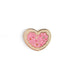 Valentines Heart Sprinkle Sugar Cookie Enamel Pin - Enamel Pin - The Pink Samurai