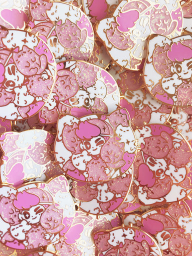 Cat Daddy Enamel Pin • Mamobot + The Pink Samurai - Enamel Pin - The Pink Samurai