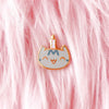 Happy Birthday Kitten Enamel Pin - Enamel Pin - The Pink Samurai