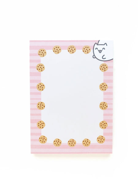 Cookie Cat Notepad