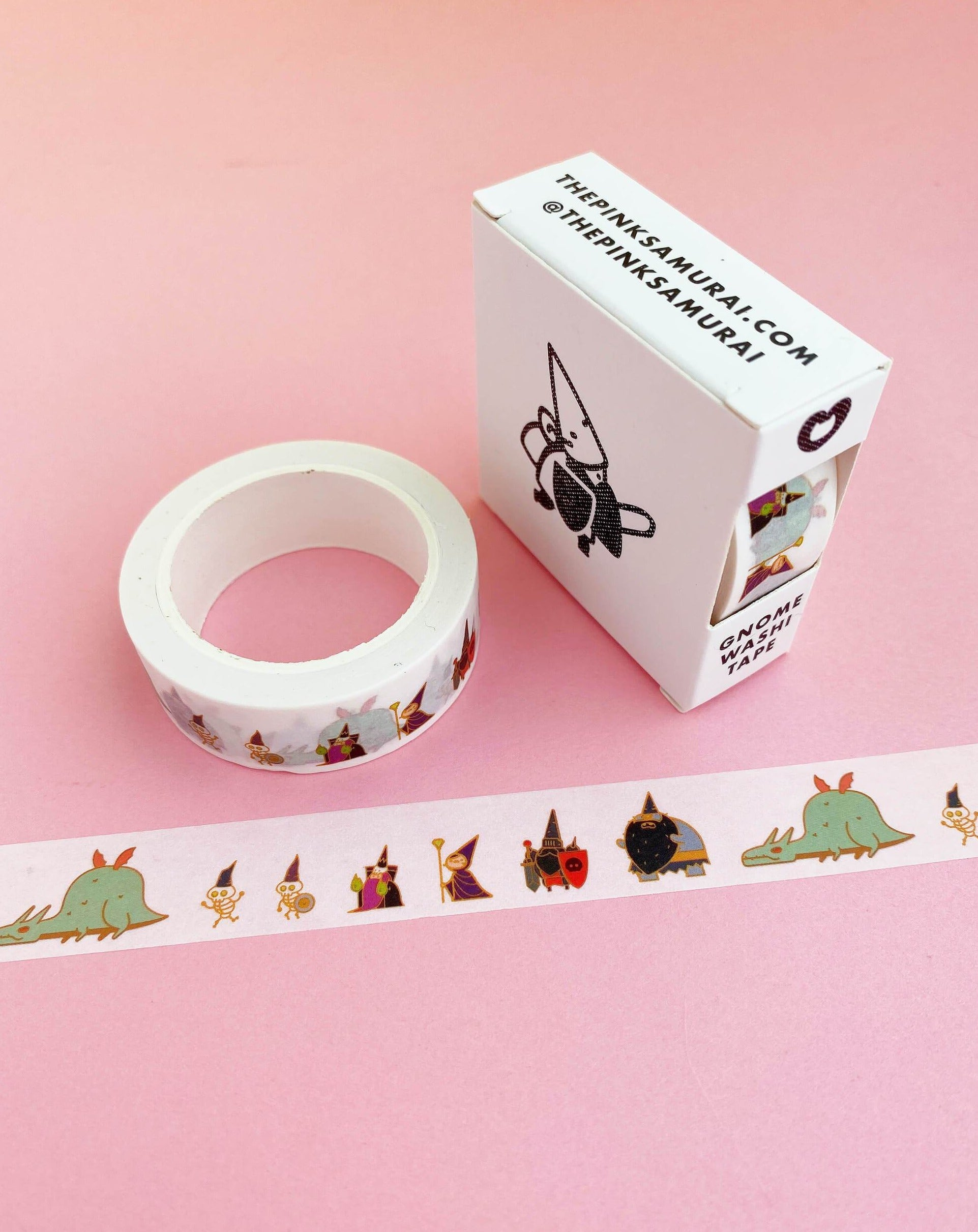 Gnome Baddies Washi Tape