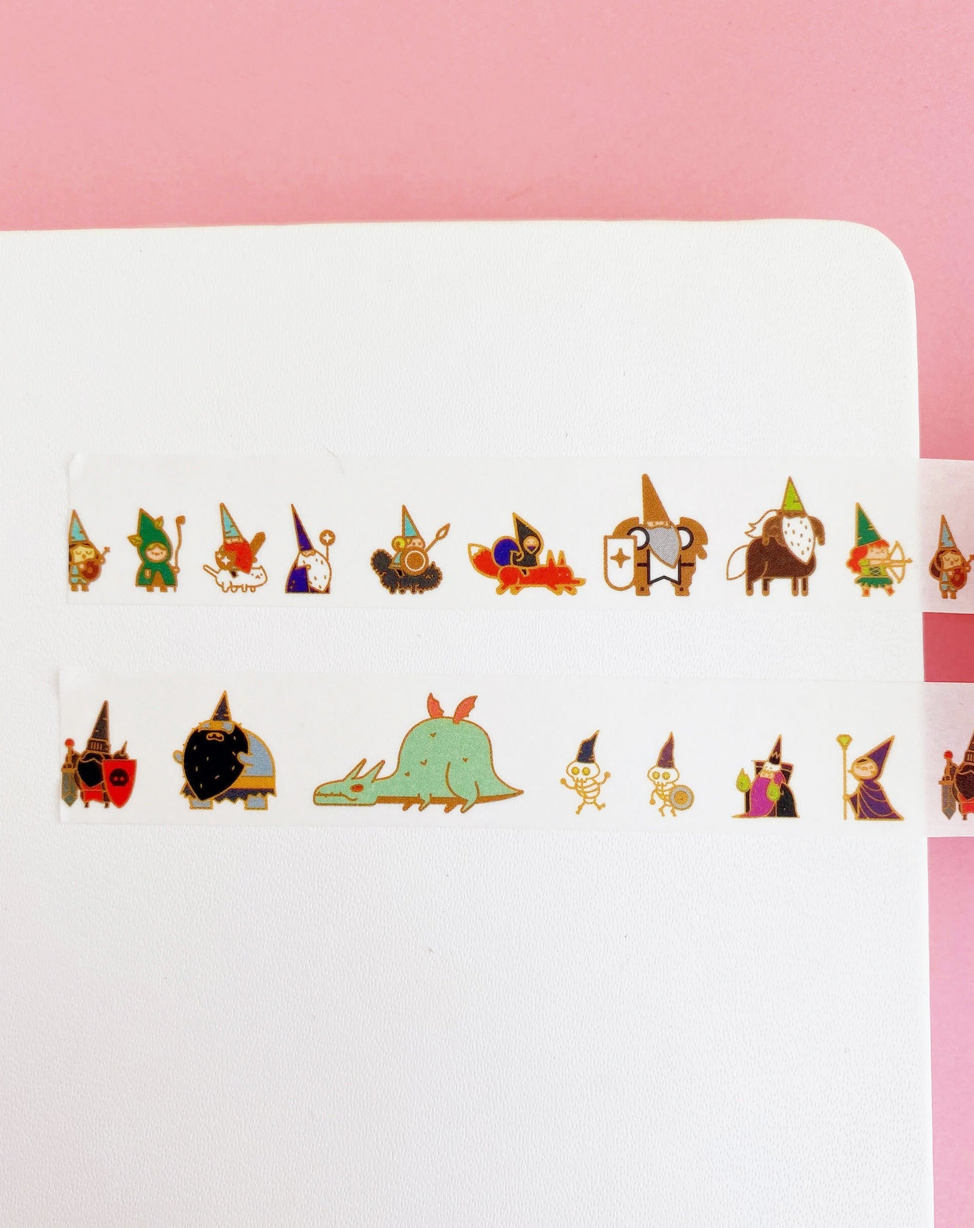 Gnome Heroes Washi Tape