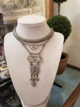 Load image into Gallery viewer, Art Deco Multi-Strand Rhinestone Necklace
