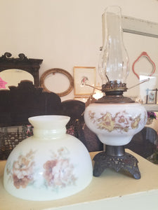 Climax Victorian Oil Lamp