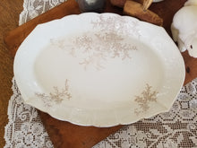Load image into Gallery viewer, Gorgeous Vintage Ironstone Platter O.P.Co. 1800s