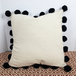 Pom Throw Pillow Cover