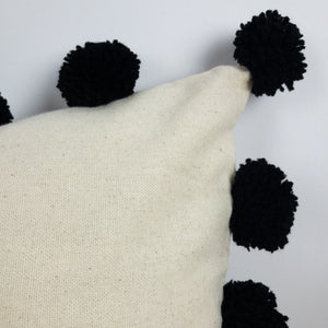 Pom Throw Pillow Cover - Mila Roads