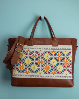 French Embroidered Weekender - Mila Roads