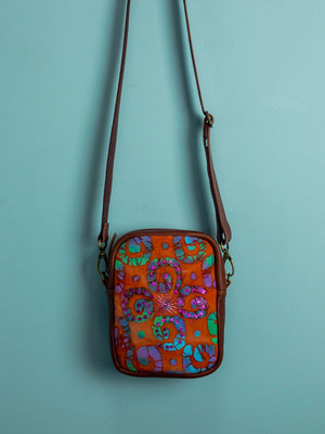 Indian Batik Travel Pouch - Mila Roads