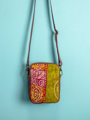 Bangladesh Kantha Travel Pouch - Mila Roads