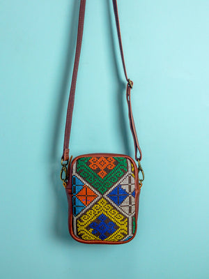 Philippine Embroidered Travel Pouch - Mila Roads