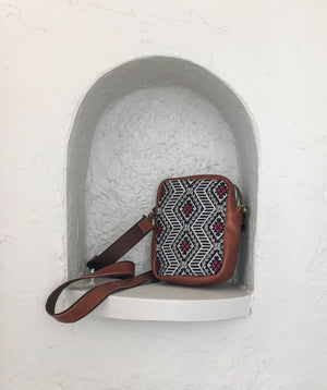 Thai Diamond Embroidered Travel Pouch - Mila Roads